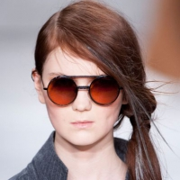 Стильный образ с подиума от американского бренда современной одежды.